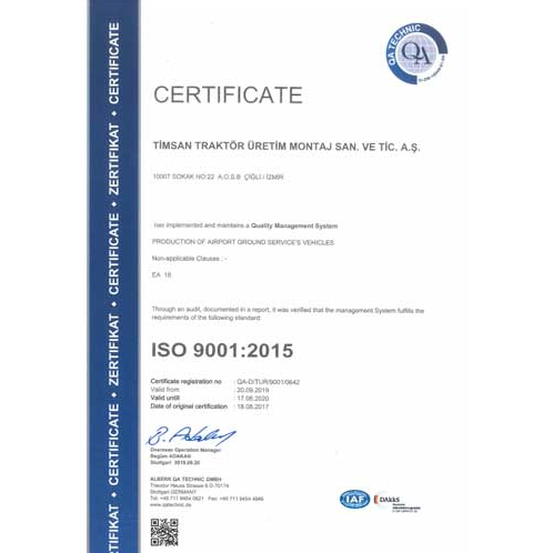 Quality, Environment and OSH